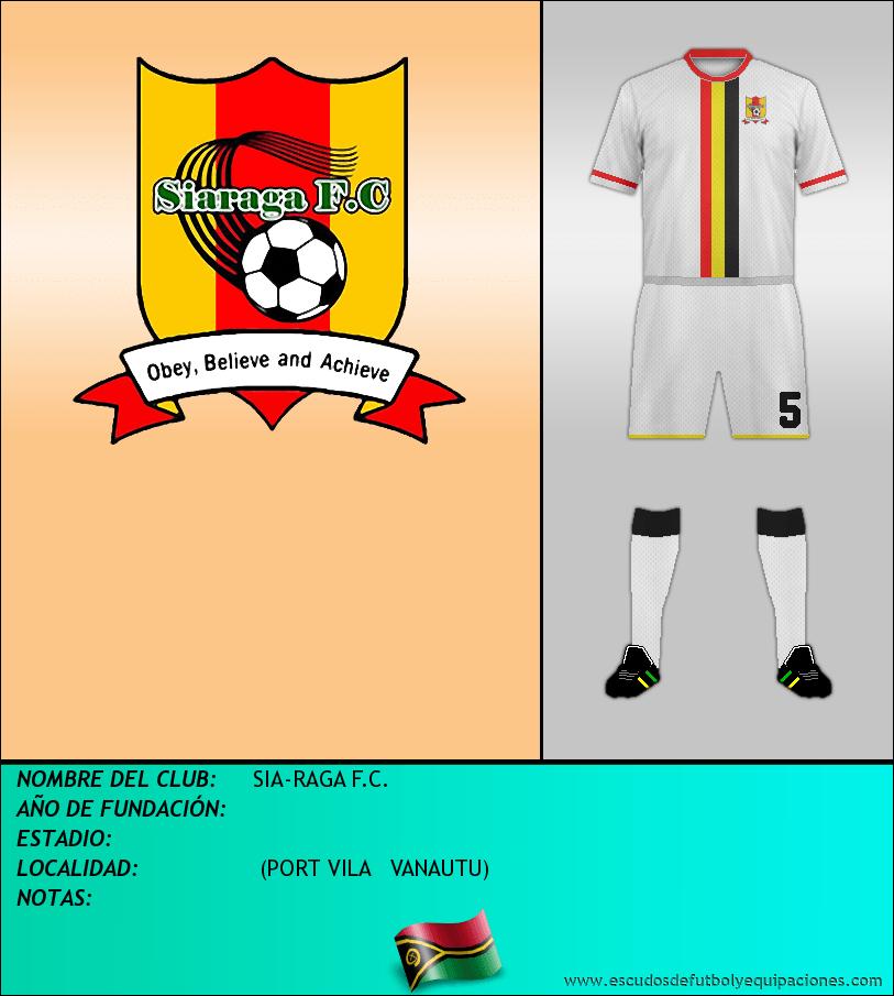 Escudo de SIA-RAGA F.C.