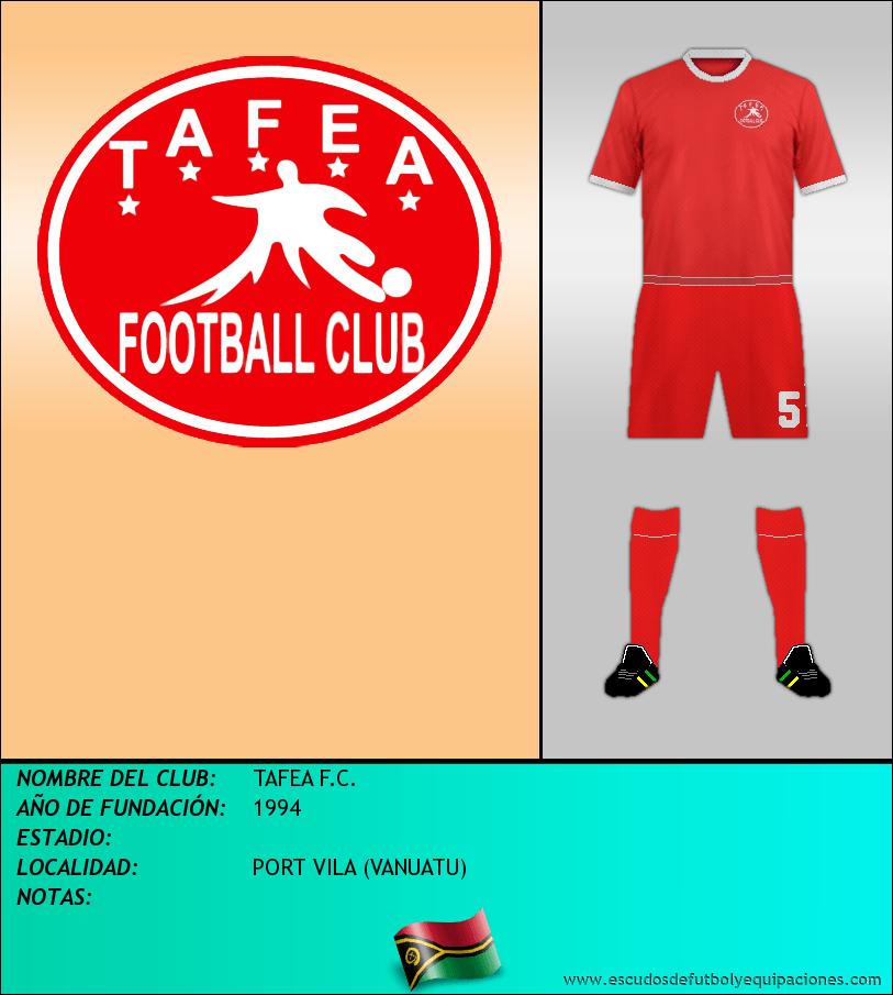 Escudo de TAFEA F.C.