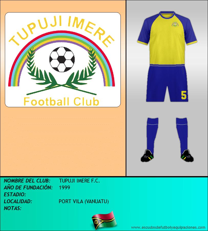 Escudo de TUPUJI IMERE F.C.
