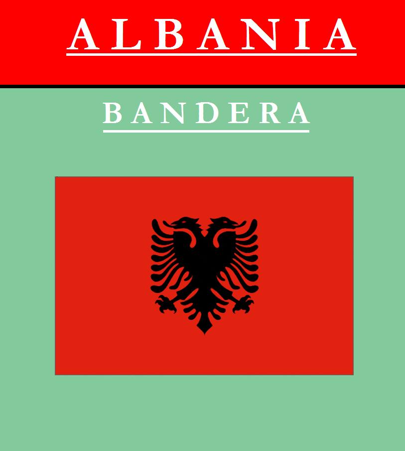 Escudo de BANDERA DE ALBANIA