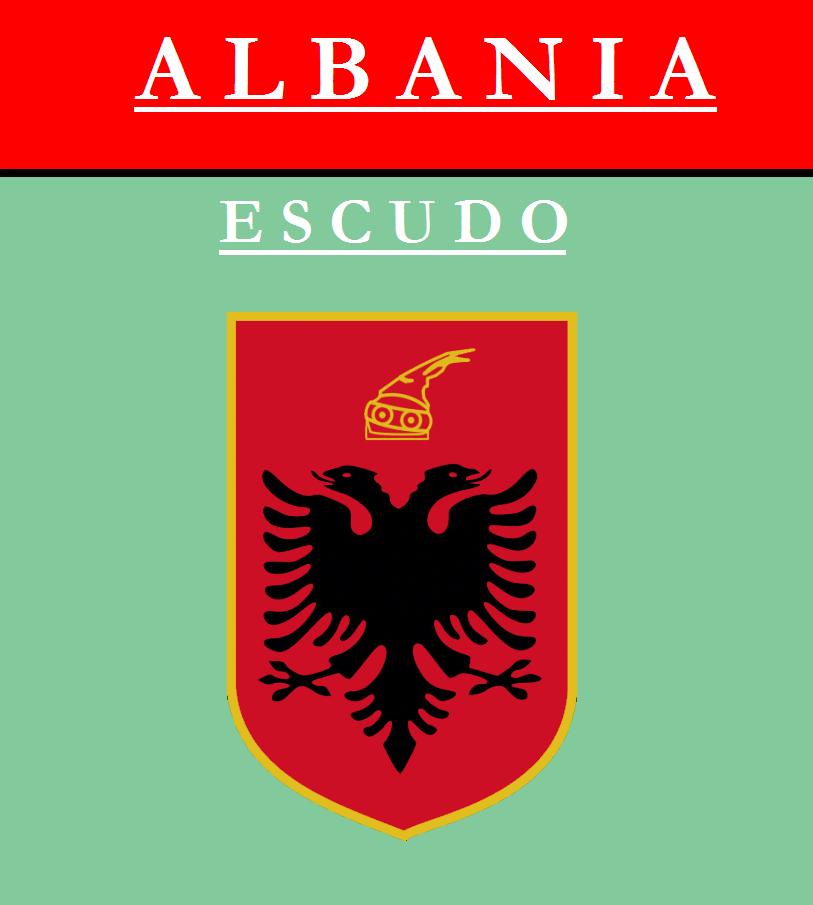 Escudo de ESCUDO DE ALBANIA