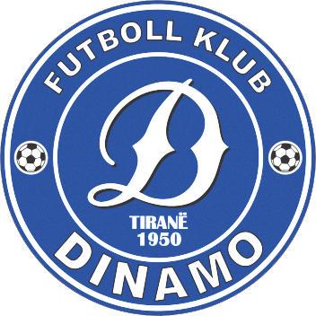 Escudo de F.K. DINAMO TIRANA (ALBANIA)