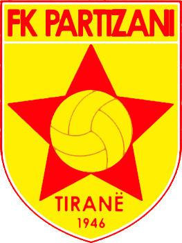Escudo de F.K. PARTIZANI TIRANA (ALBANIA)
