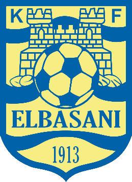 Escudo de K.F. ELBASANI (ALBANIA)