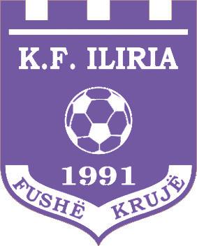 Escudo de K.F. ILIRIA (ALBANIA)