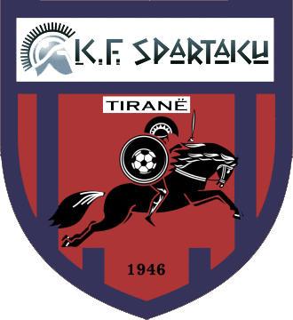 Escudo de K.F. SPARTAKU (ALBANIA)