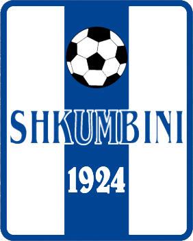 Escudo de K.S. SHKUMBINI (ALBANIA)