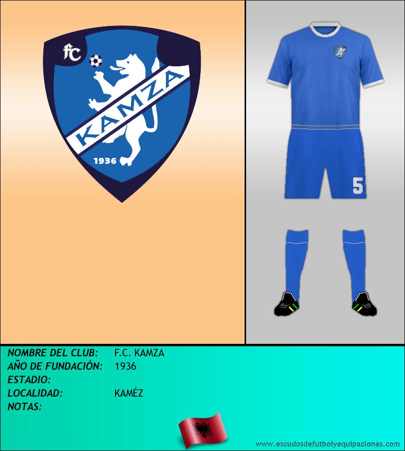 Escudo de F.C. KAMZA