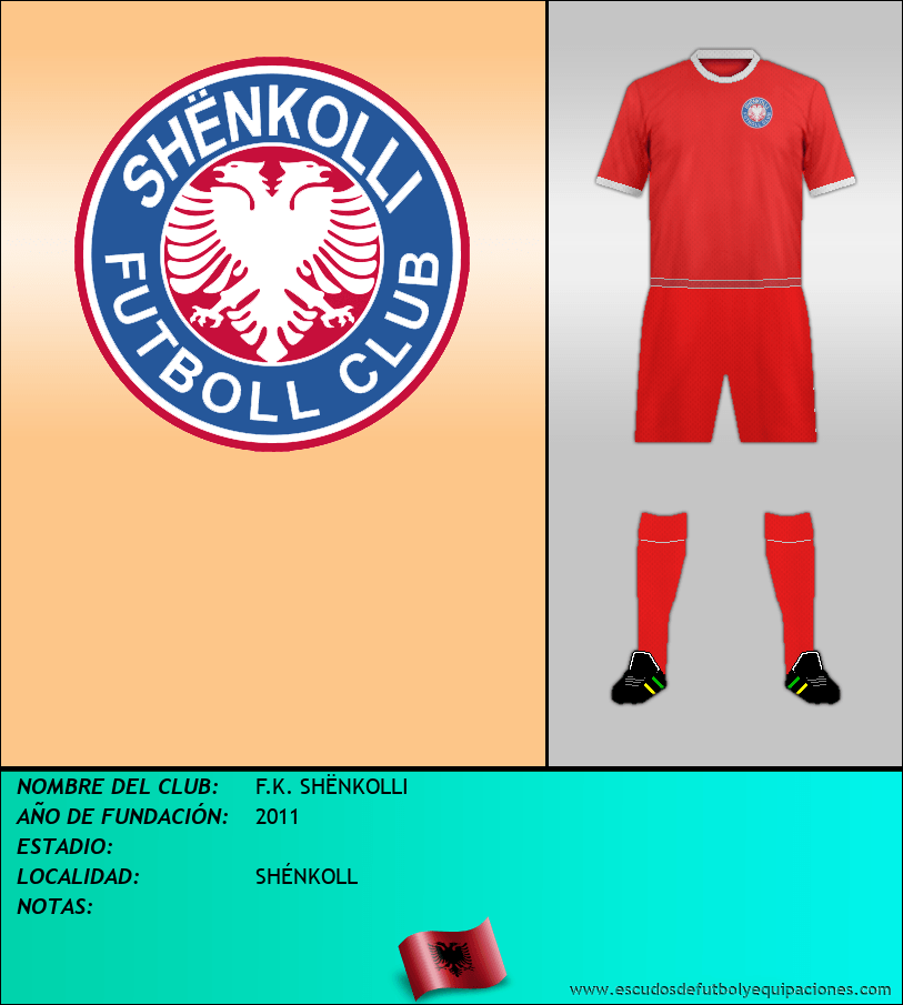 Escudo de F.K. SHËNKOLLI