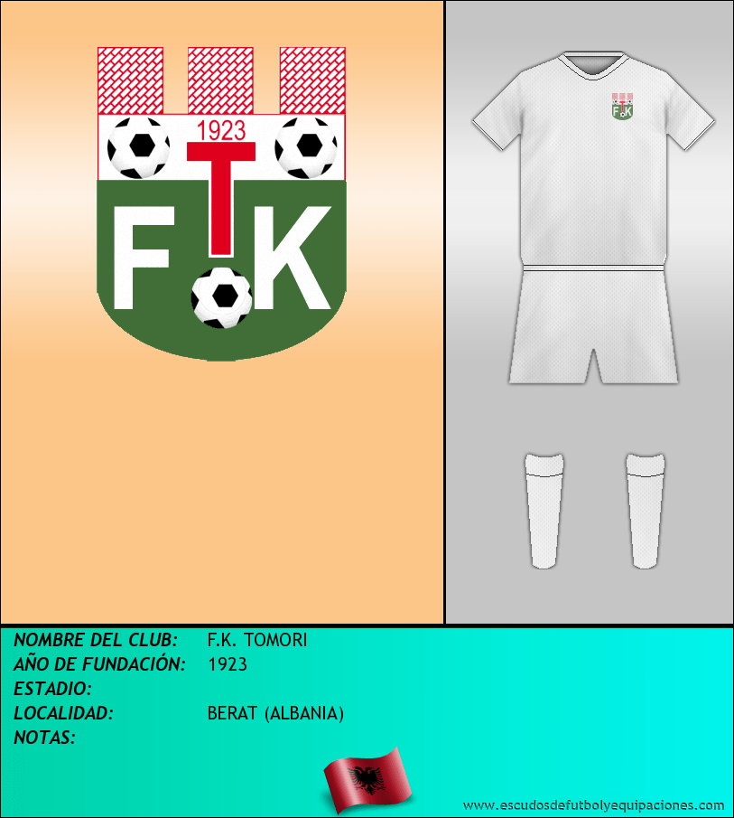 Escudo de F.K. TOMORI