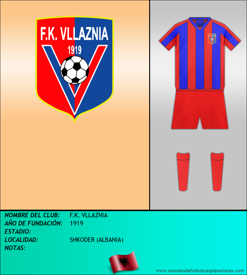 Escudo de F.K. VLLAZNIA