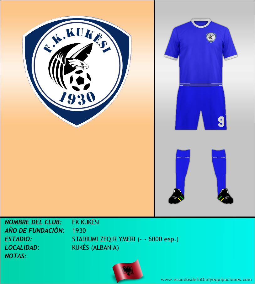 Escudo de FK KUKËSI