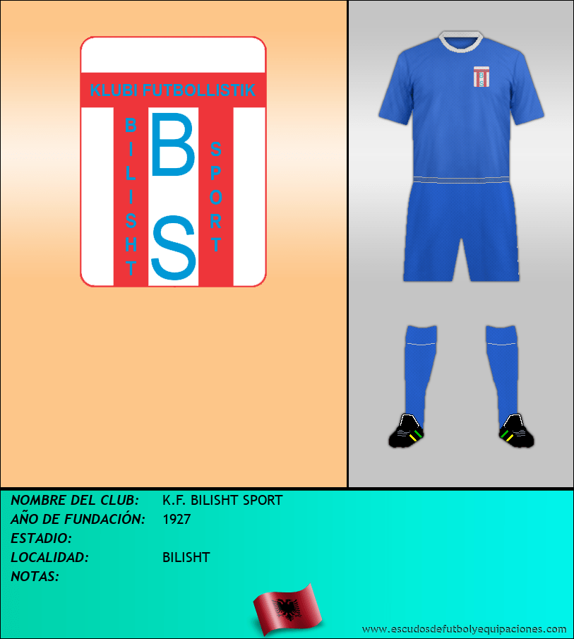 Escudo de K.F. BILISHT SPORT