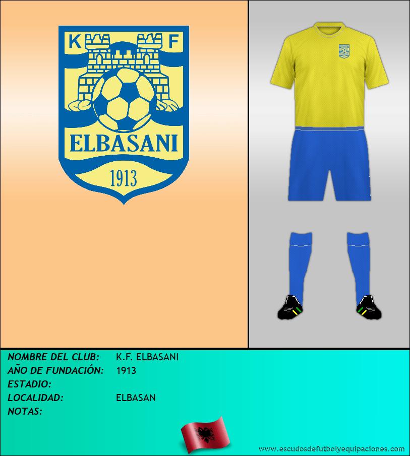 Escudo de K.F. ELBASANI