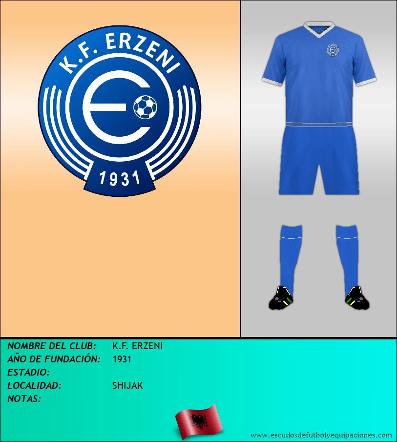 Escudo de K.F. ERZENI