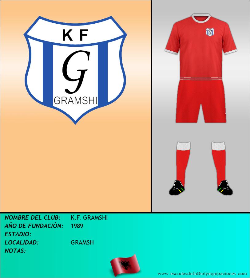 Escudo de K.F. GRAMSHI