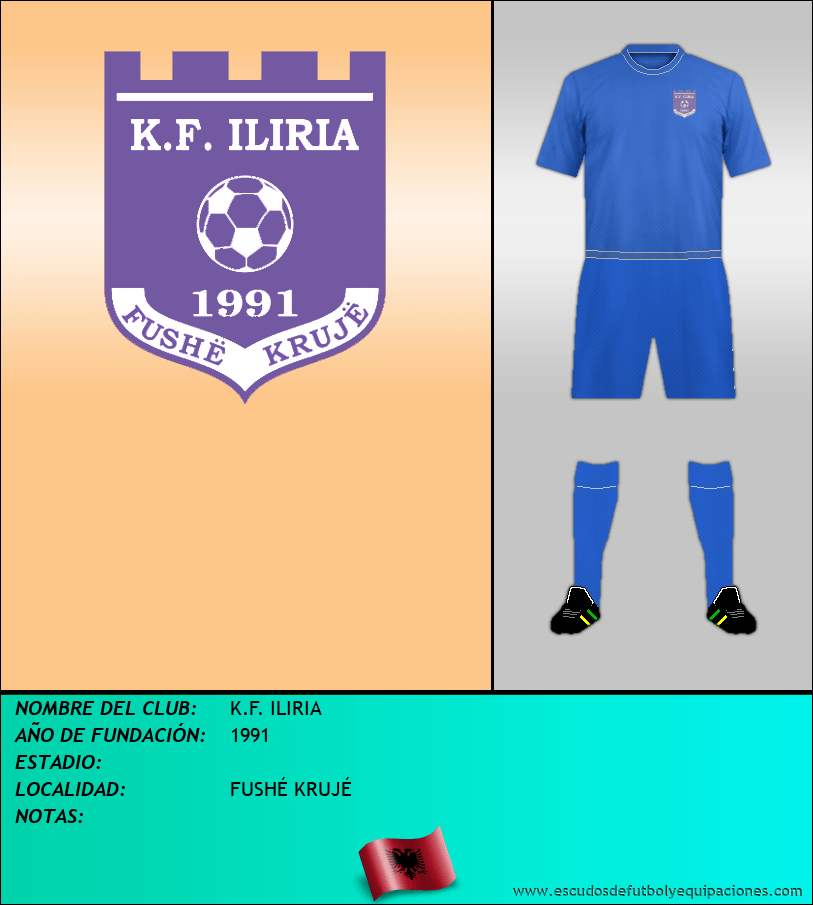 Escudo de K.F. ILIRIA