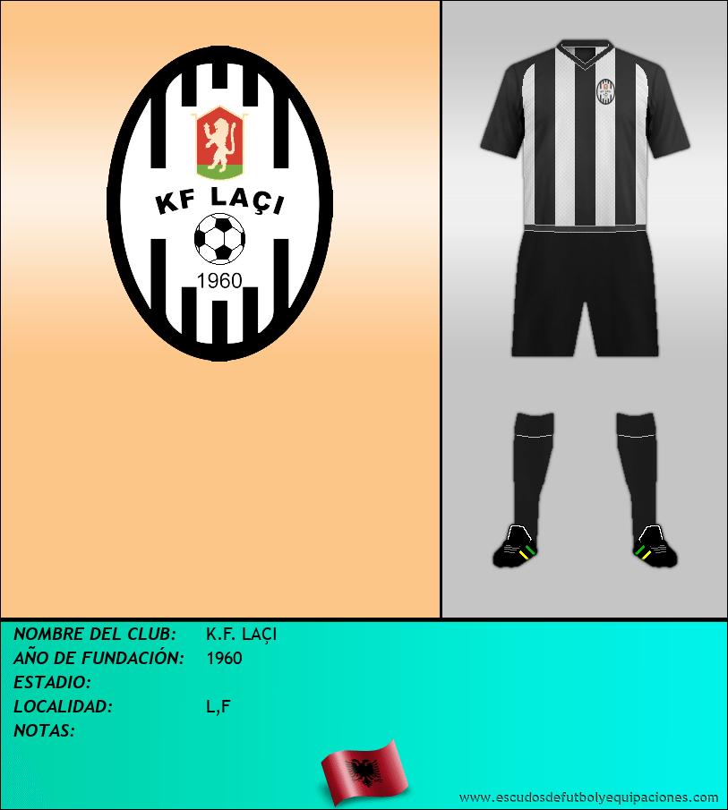 Escudo de K.F. LAÇI