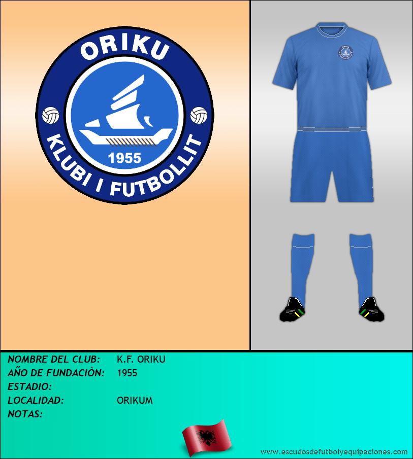 Escudo de K.F. ORIKU