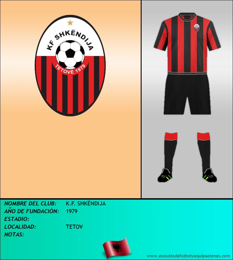 Escudo de K.F. SHKËNDIJA