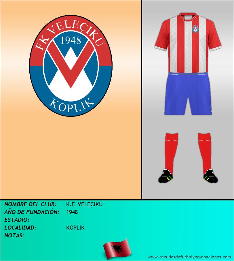 Escudo de K.F. VELEÇIKU
