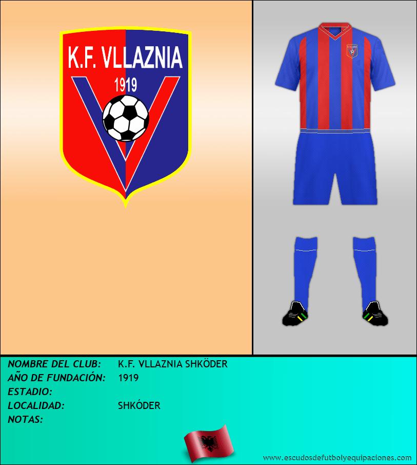 Escudo de K.F. VLLAZNIA SHKÖDER