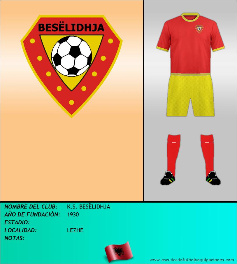 Escudo de K.S. BESËLIDHJA