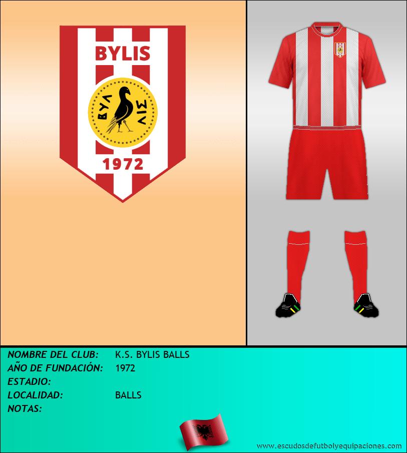 Escudo de K.S. BYLIS BALLS