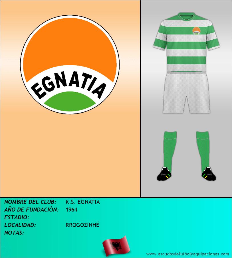 Escudo de K.S. EGNATIA