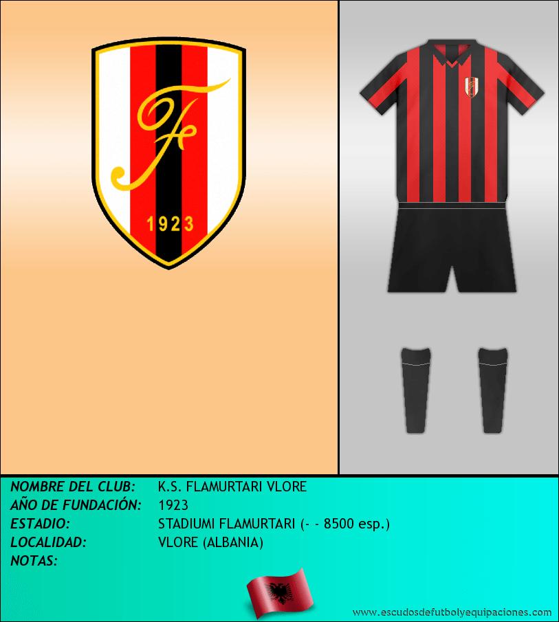 Escudo de K.S. FLAMURTARI VLORE
