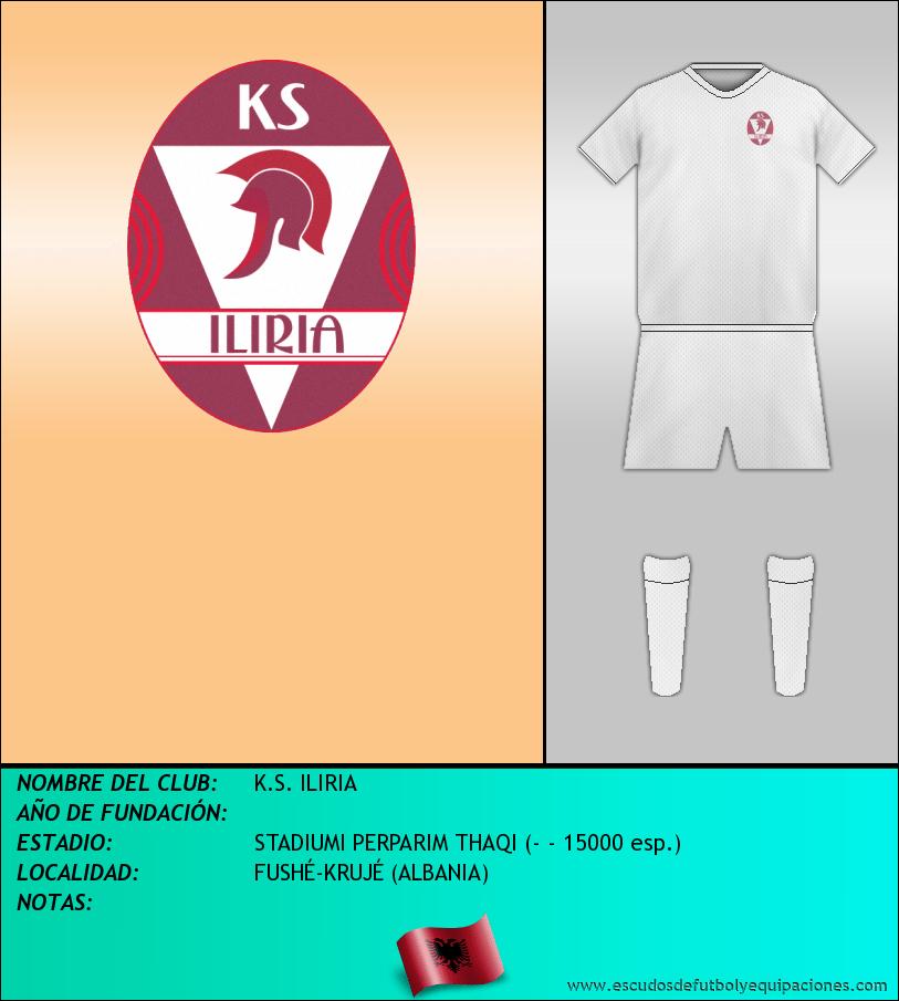 Escudo de K.S. ILIRIA