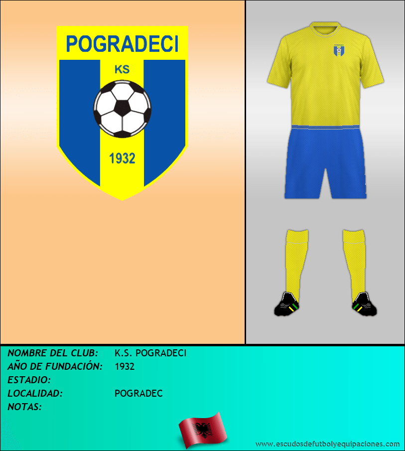 Escudo de K.S. POGRADECI