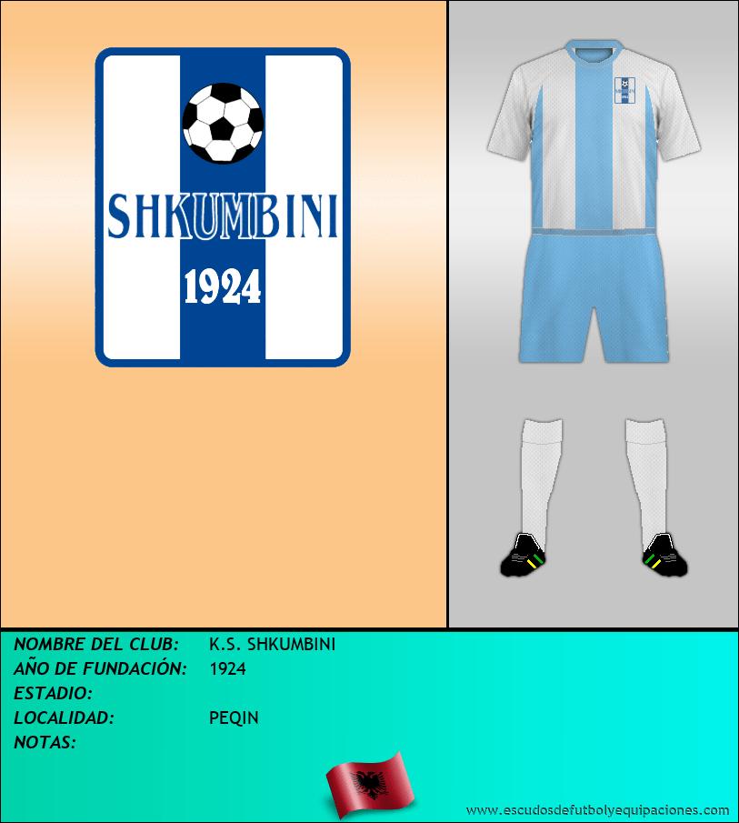 Escudo de K.S. SHKUMBINI