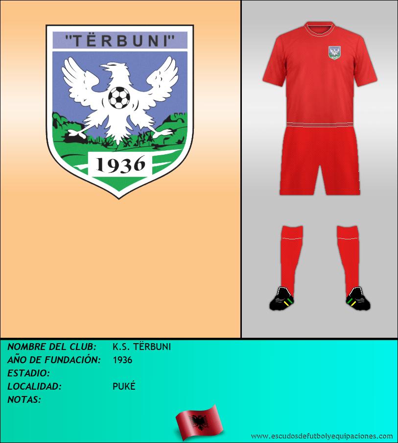 Escudo de K.S. TËRBUNI