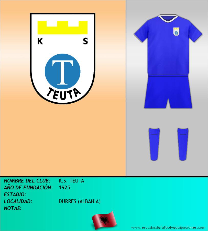 Escudo de K.S. TEUTA