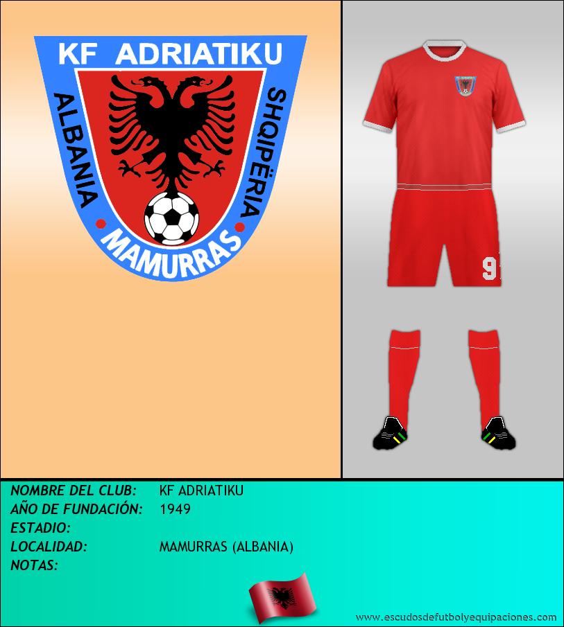 Escudo de KF ADRIATIKU