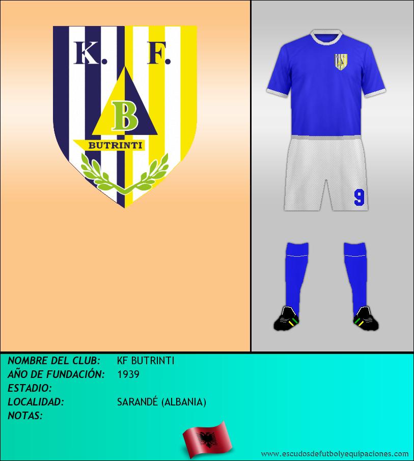 Escudo de KF BUTRINTI