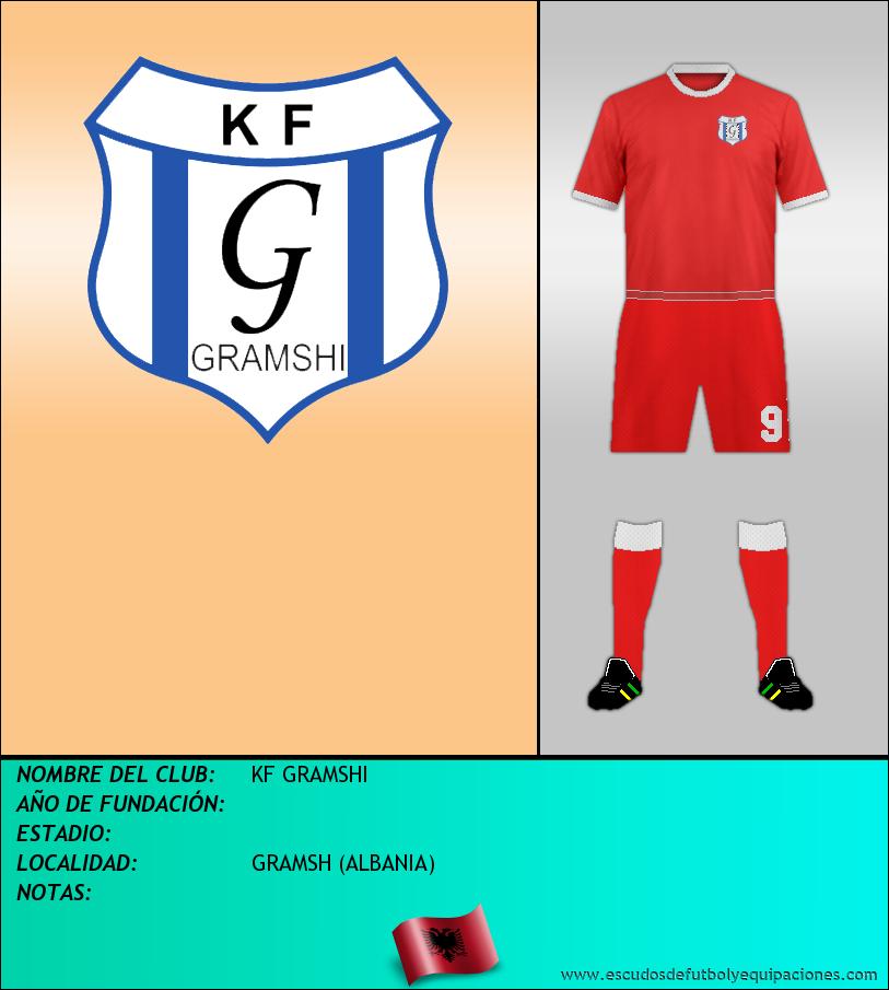 Escudo de KF GRAMSHI