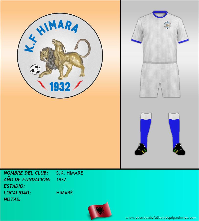 Escudo de S.K. HIMARÉ