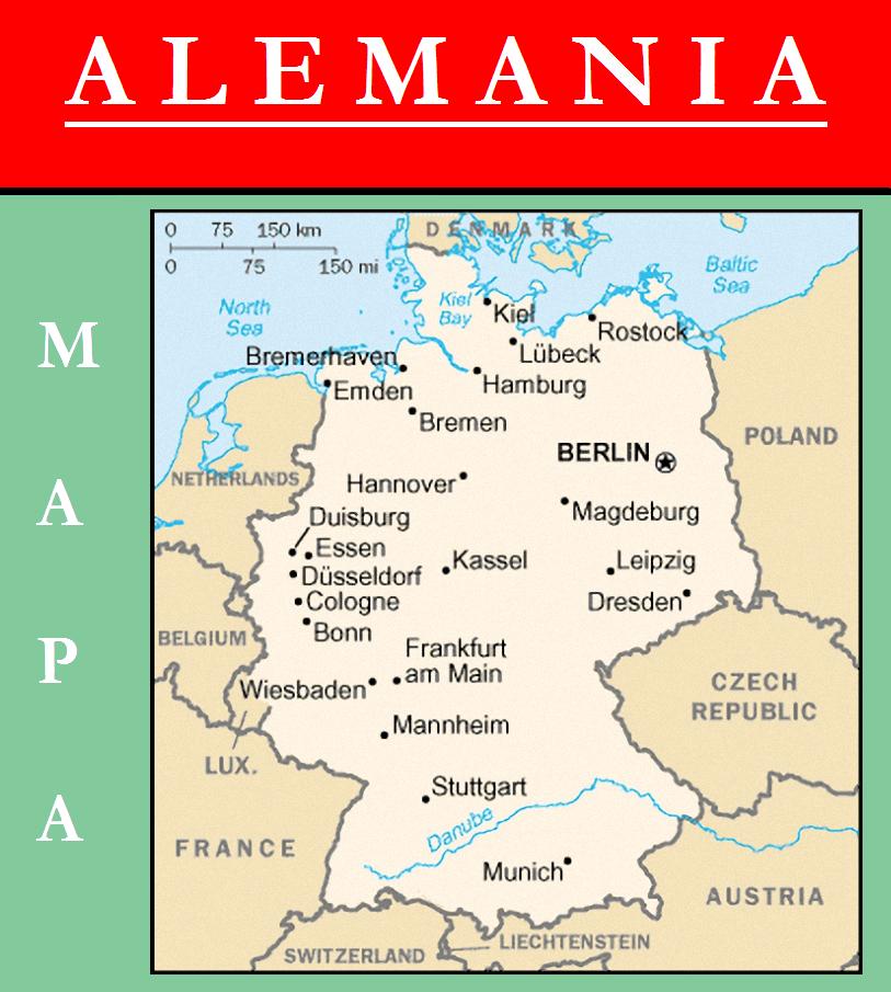 Escudo de MAPA DE ALEMANIA
