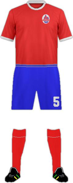 Equipación 1 FC KLEVE