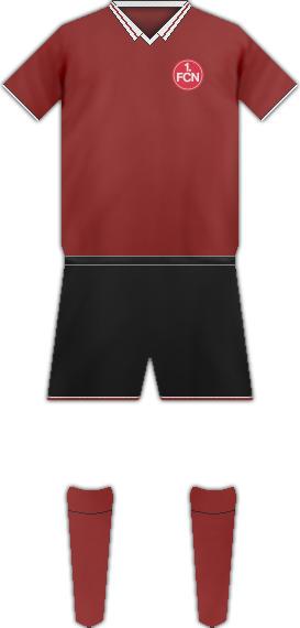 Equipación 1 FC NUREMBERG