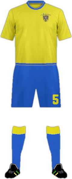 Equipación 1 FC SCHWALMSTADT