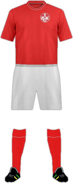 Equipación 1. FC KAISERSLAUTERN