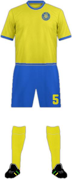 Equipación 1. FC LOKOMOTIVE LIEPZIG