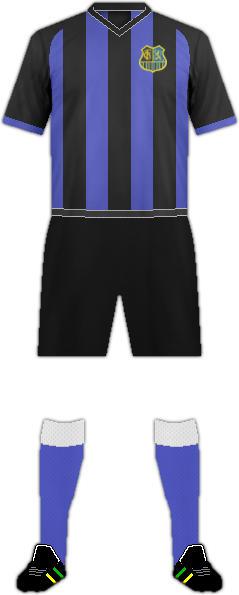 Equipación 1. FC SAARBRÜCKEN