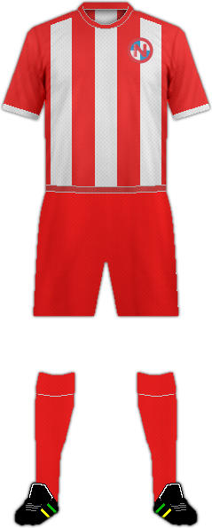 Equipación FC EINTRACHT NORDERSTEDT