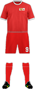 Equipación 1. FC UNION