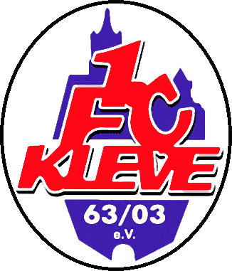 Escudo de 1 FC KLEVE (ALEMANIA)