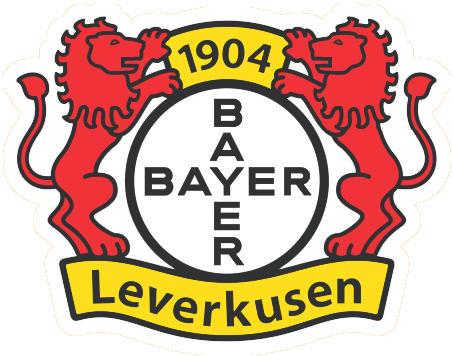 Escudo de BAYER 04 LEVERKUSEN (ALEMANIA)